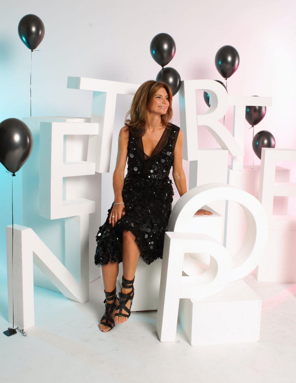 Natalie Massenet attends the 10th Birthday party for Net-A-Porter at Westfield on July 7, 2010 in London, England (Guliver Photos / Getty Images)
