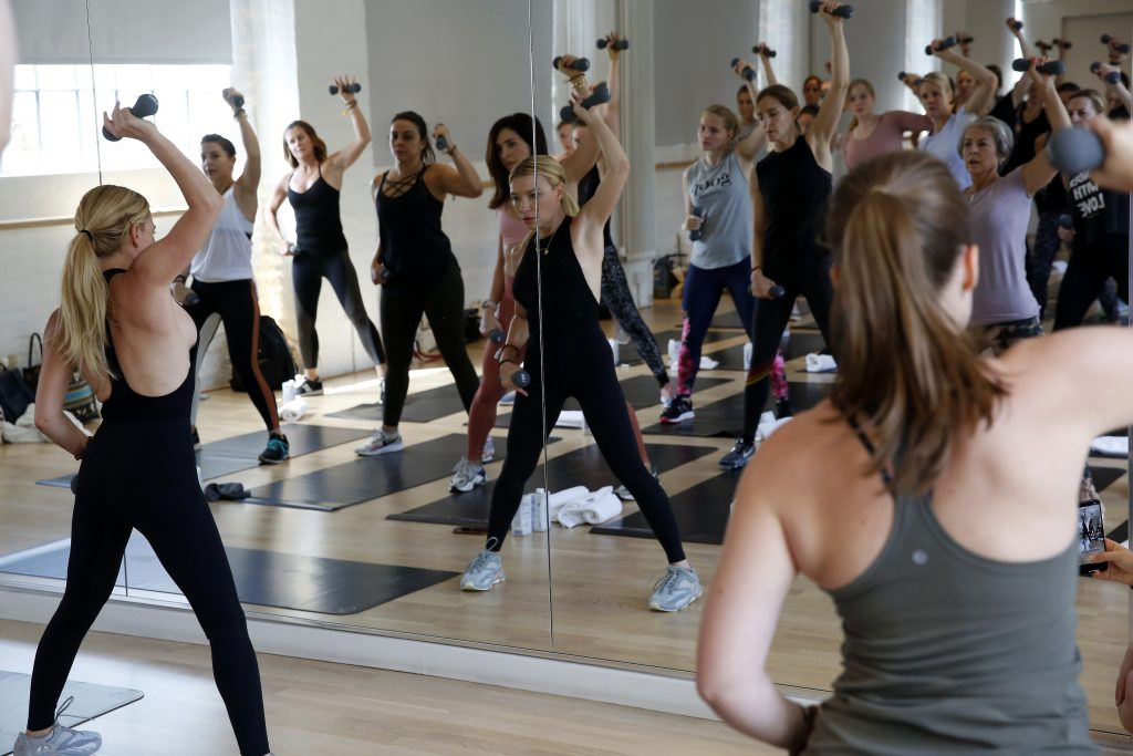 Tracy Anderson In goop Health London 2019