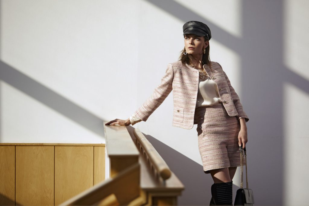 Bulgarian Topmodel Nora Shopova for D2Line