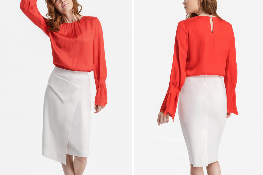 D2Line Capsule Wardrobe Pencil Skirt