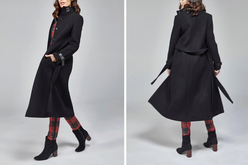D2Line Classic Wool Coat